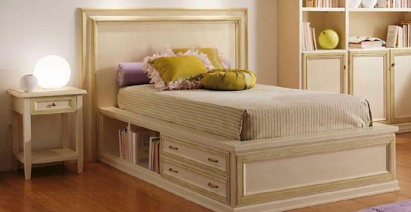 Кровать DEGAS с 2 ящиками Арт. DE 212