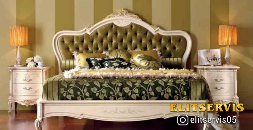 Кровать Valderamobili CPRL02/N Размеры: 212х155х220