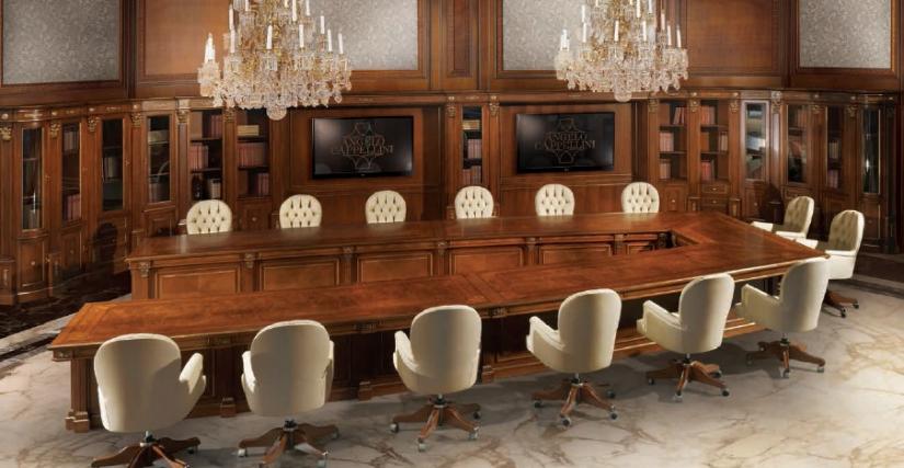 Стол для конференц зала Размеры: Ш 650 Г 360 В 78 Кресло вращающееся Арт. 30097/PG Размеры: Ш 62 Г 68 В 107