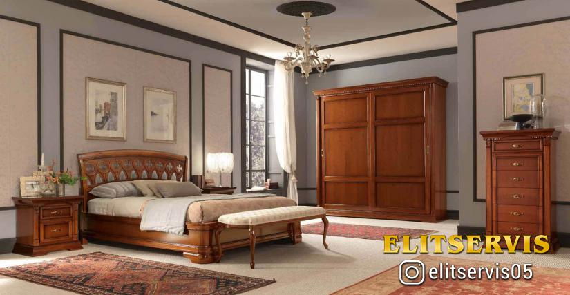 Спальня Palazzo Ducale, вишня
