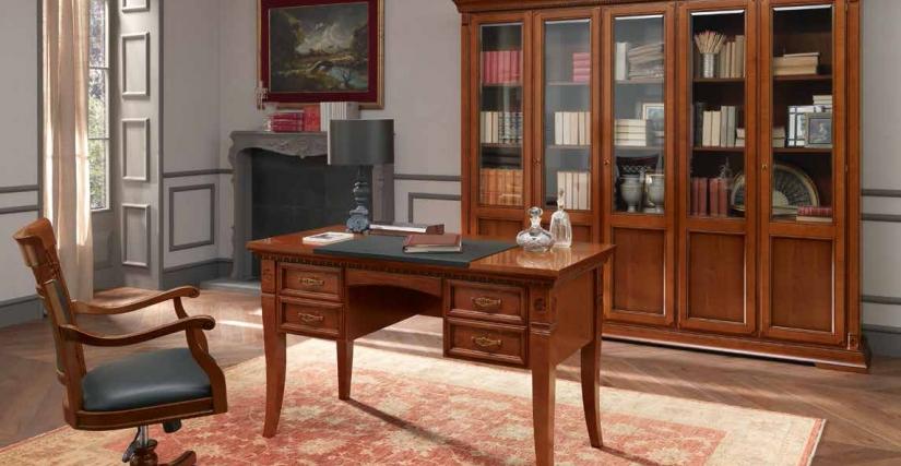 Стол письменный 4 ящика. 147х65х78