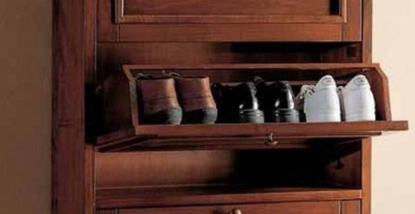 Коллекция Focolare Обувница арт. 6832 размер L77 D22 H163