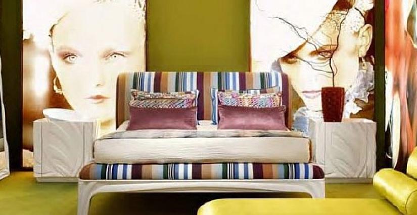 Кровать Арт. RM600/S Размер: Ш 196 Г 245 В 120