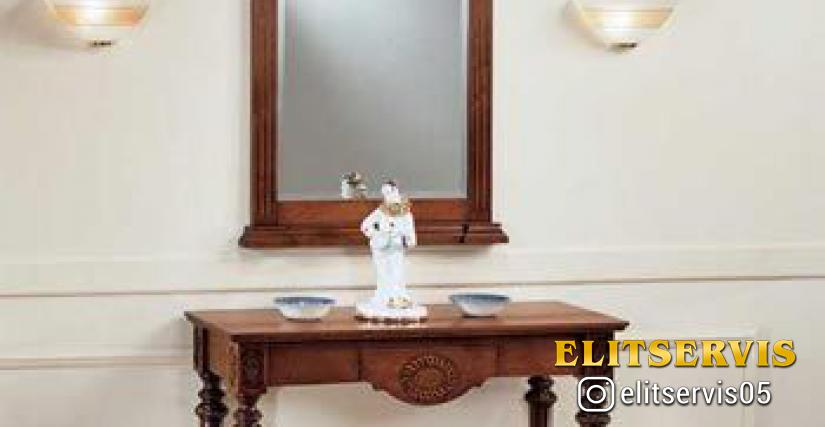 Art. A19 Mirror L/W. 99 P/D. 38 H. 82