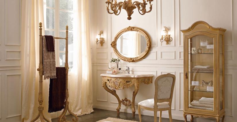 • 3021/B консольный столик для ванной (L34) cm. 114 x 58 x 89 h. • 1110 зеркало (L34) cm. 100 x 78 h. • 953 бра (L34) cm. 32 x 48 h. • 1132 вешалка для полотенец (L34) cm. 82 x 39 x 180 h. • 715 стул (L34 - S17) cm. 50 x 54 x 99 h. • 2025 остекленный серв