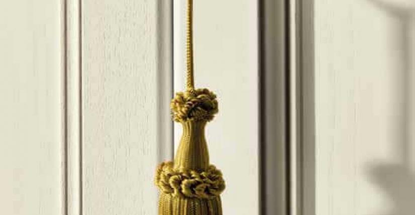 "Декорация для ключей ""золото"""