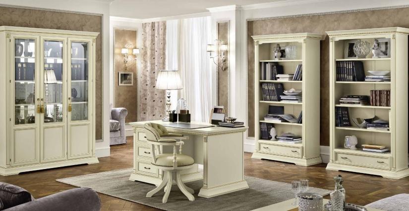 Шкаф книжный Размеры: Ш.112 Г.45 В.210  Письменный стол Размеры: Ш.145 Г.75 В.78