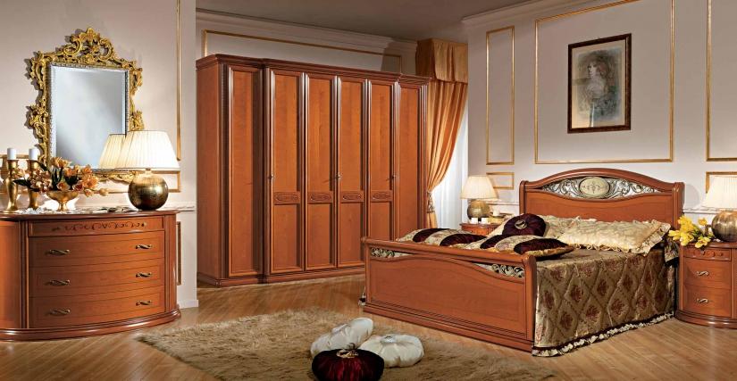 Кровать 160х200 арт.05 Размеры: Ш.178 Г.218 В.130/65  Кровать 180х200 арт.06 Размеры: Ш.198 Г.218 В.130/65  Шестидверный шкаф Размеры: Ш.295 Г.70 В.240