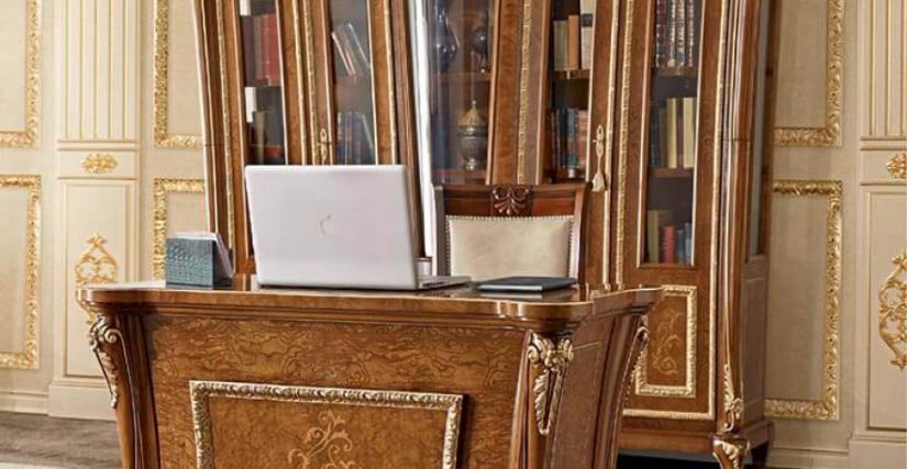 Книжный шкаф Арт. 881 Размеры: Ш 239 Г 61 В 220/245 Компьютерный стол Арт. 885 Размеры: Ш 120 Г 45 В 78 Вращающееся кресло на колесиках Арт. 886 Размеры: Ш 62 Г 80 В 46/135
