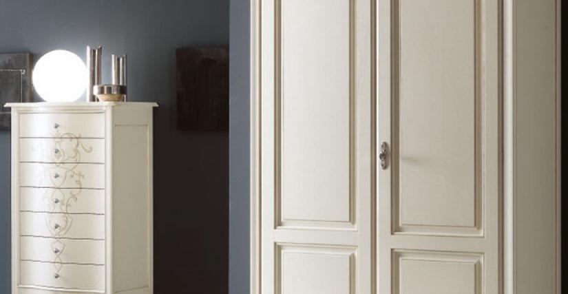 Шкаф 2-х дверный Арт. 2215 C Размеры: Ш 126 Г 61 В 219