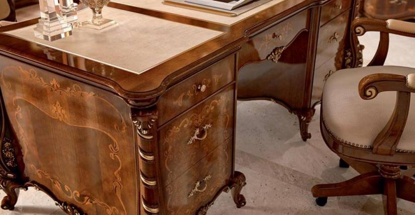 Письменный стол Арт. 1392 Размеры: Ш 195 Г 92 В 80
