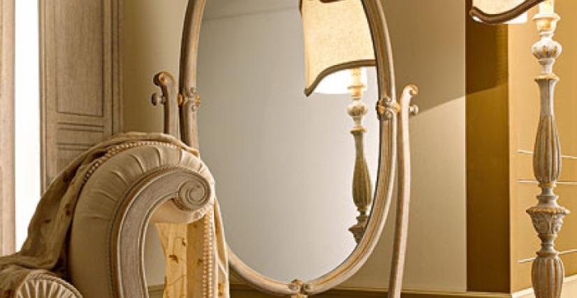 • 1118 перекидное зеркало (L22) cm. 93 x 57 x 180 h.