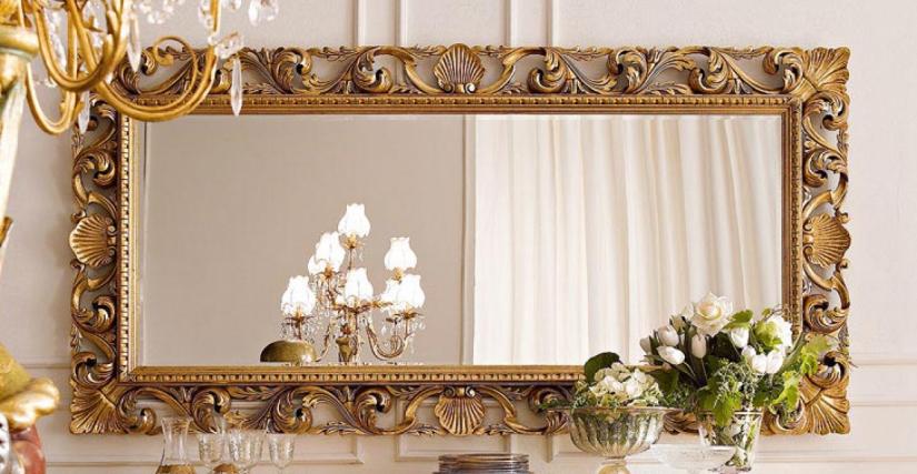 """• 1085 зеркало """"барокко"""" (L04) cm. 203 x 103 h."""