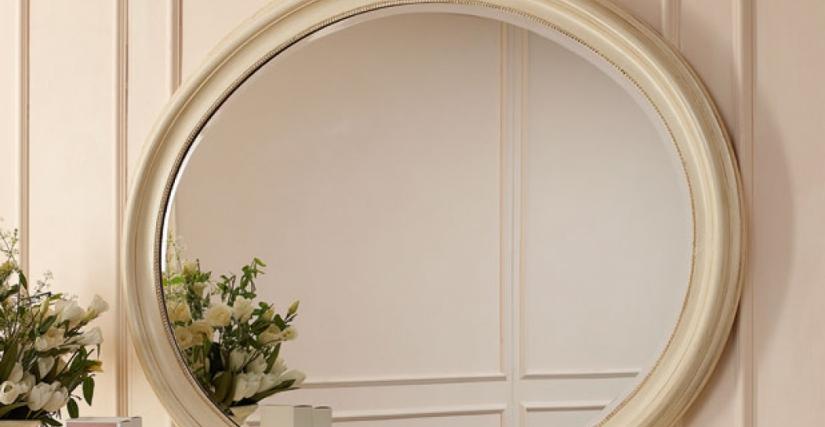 • 1134 овальное зеркало (L35) cm. 145 x 117 h.