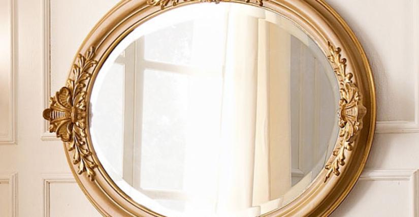 • 1110 овальное зеркало (L34) cm. 100 x 78 h.