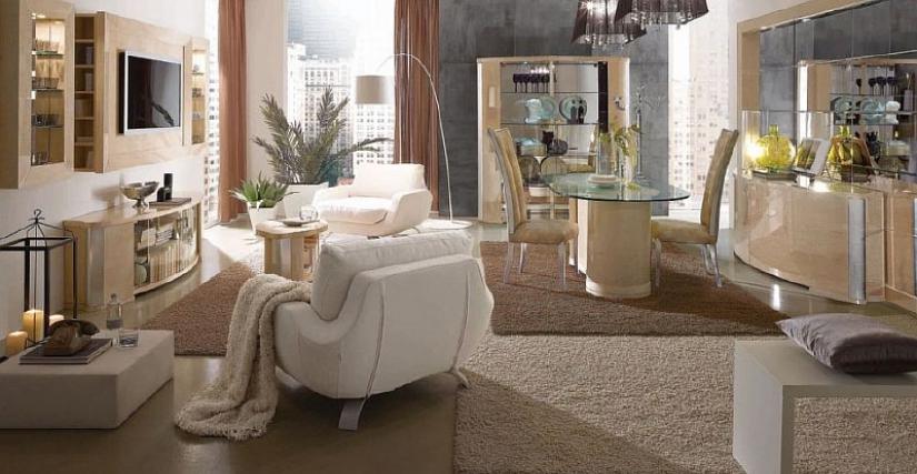 Итальянская гостиная Mon Amour Acero
