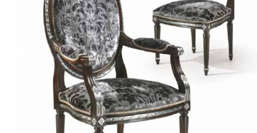Armchair Art.425/P Angelo Cappellini