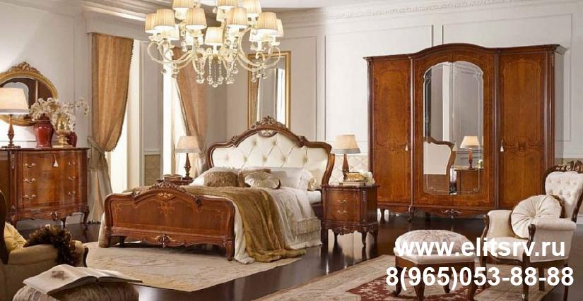 Кровать Арт. CPRL50/N Размеры: Ш 192 Г 210 В 155