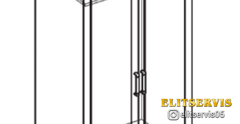 Шкаф 2 дв.1 ящ.  Тип фасада - ДСП Размеры (ВхШхГ): 2360х898х628