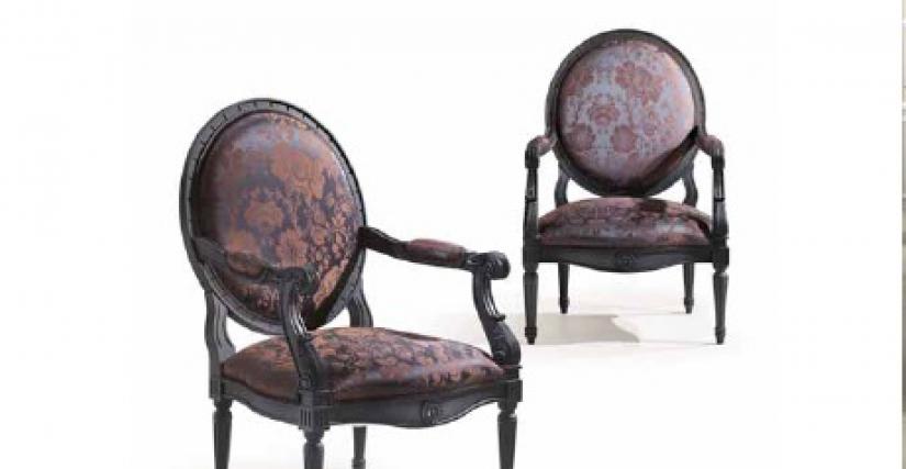 Armchair Art.6289/BI Angelo Cappellini