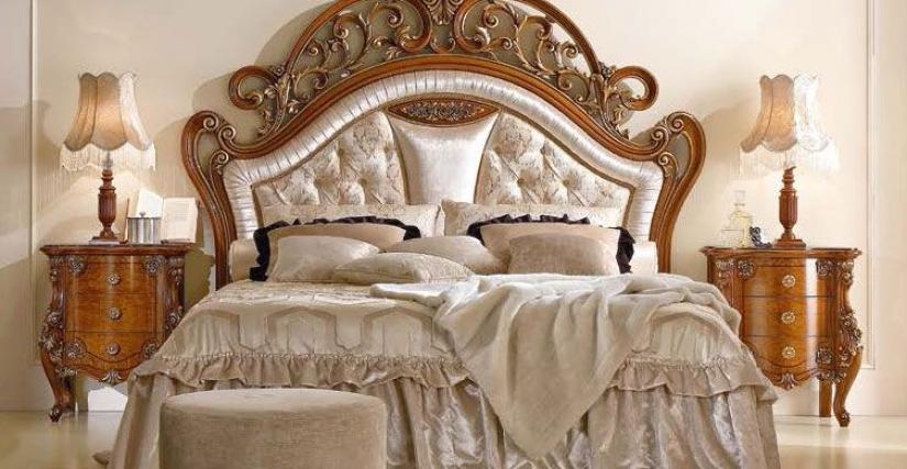 Кровать Арт. TO 223 Размеры: Ш 228 Г 215 В 194