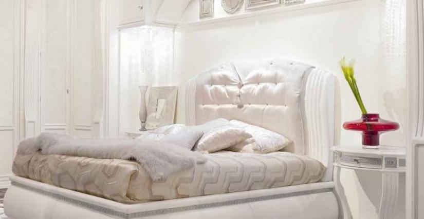 Кровать Арт. RO211 Размер: Ш 178 Г 220 В 140
