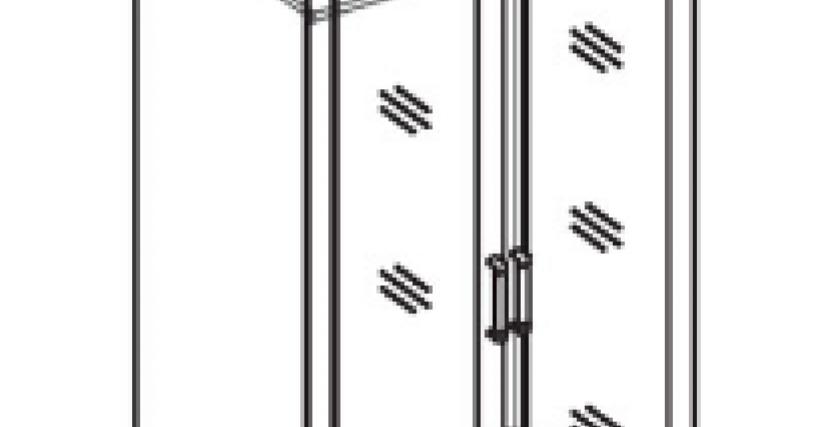 Шкаф для одежды с зеркалом 2 дв.2 ящ.  Тип фасада - зеркальный Размеры (ВхШхГ): 2360х898х628