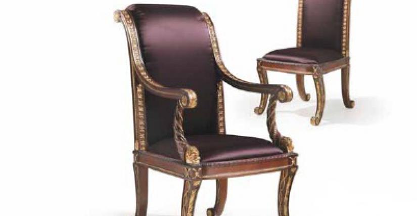 Armchair Art.30082/P Angelo Cappellini