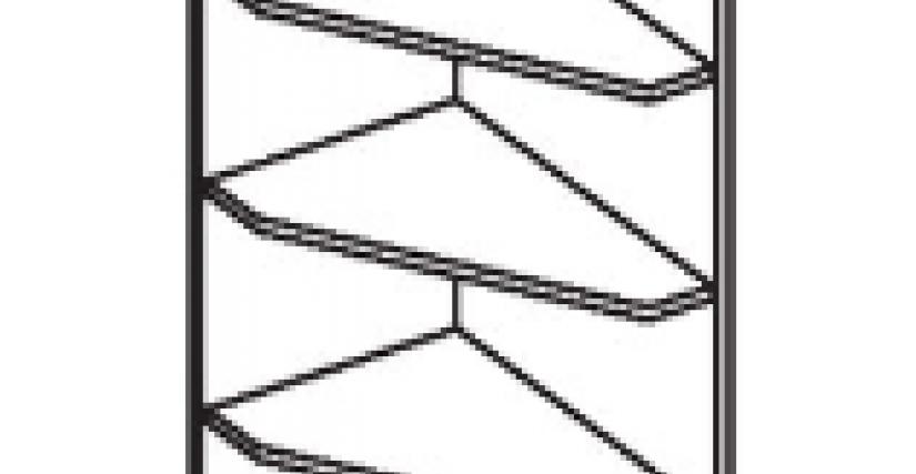 Стеллаж завершающий  Тип фасада - ДСП Размеры (ВхШхГ): 2360х428х628Стеллаж завершающий  Тип фасада - ДСП Размеры (ВхШхГ): 2360х428х628