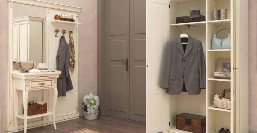 Полка 40 см для шкафа 2-х дверный для одежды