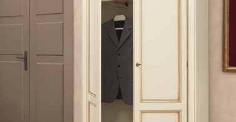 Шкаф 2-х дверный для одежды. 112х42х214