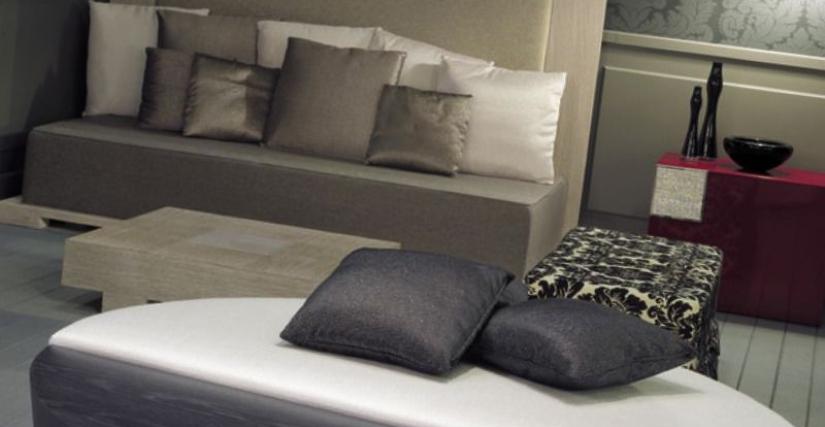 HD/3100 MOJITO Высота  43 Диаметр  160 Круглый диван для центра зала, гостинной.