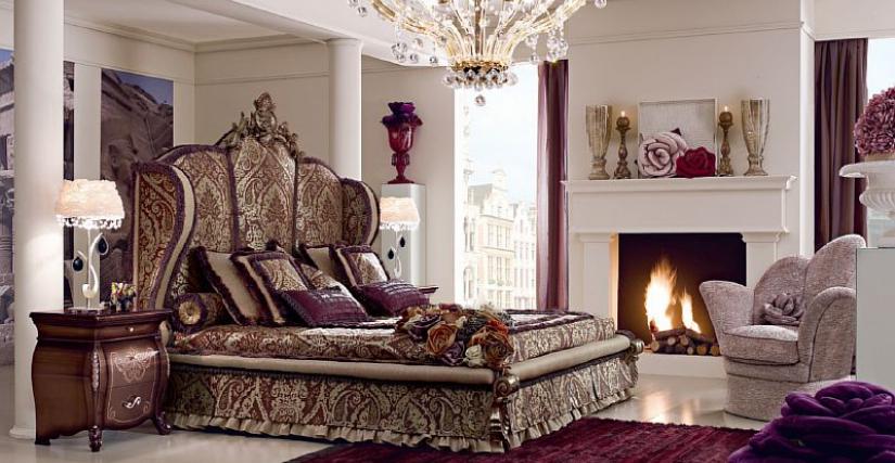 Кровать  Adelaide Размеры: L. 240 P. 235 H. 195 200 x 200