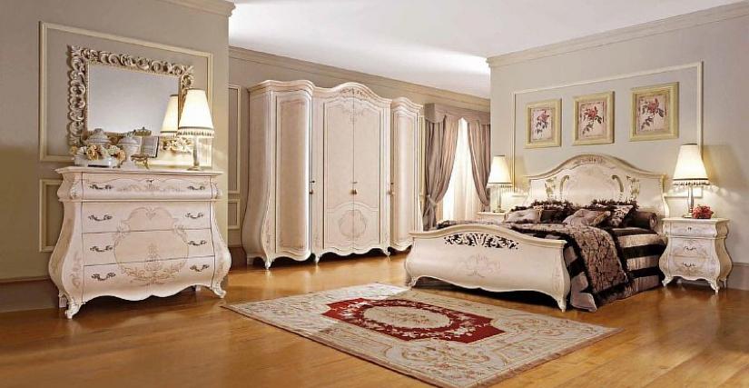 Спальный гарнитур Signorini coco 2002/L,2012/L,2004