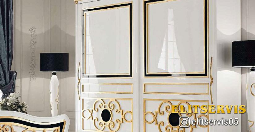 2-х дверный шкаф 027. Размеры: 301x68x262h cm.