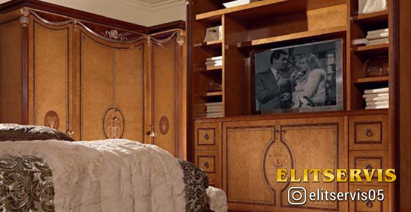 Мебель с выдвижным телевизором 158