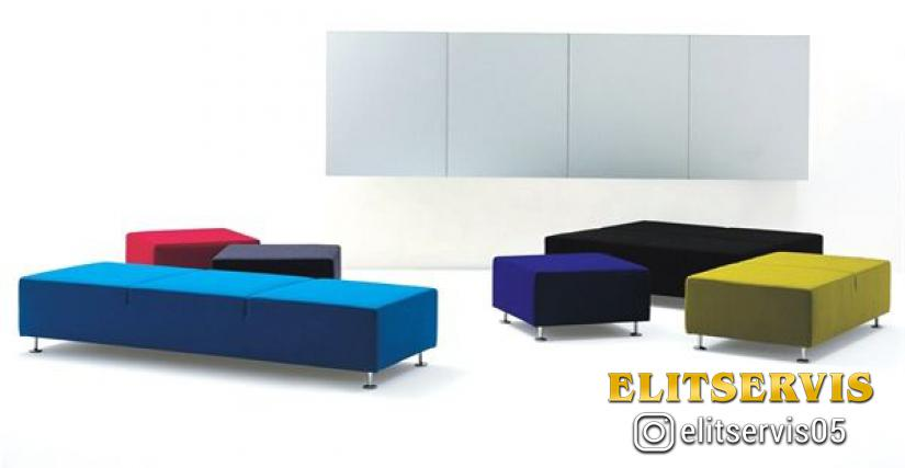 Пуф Cappellini Three Sofa System (pouf)