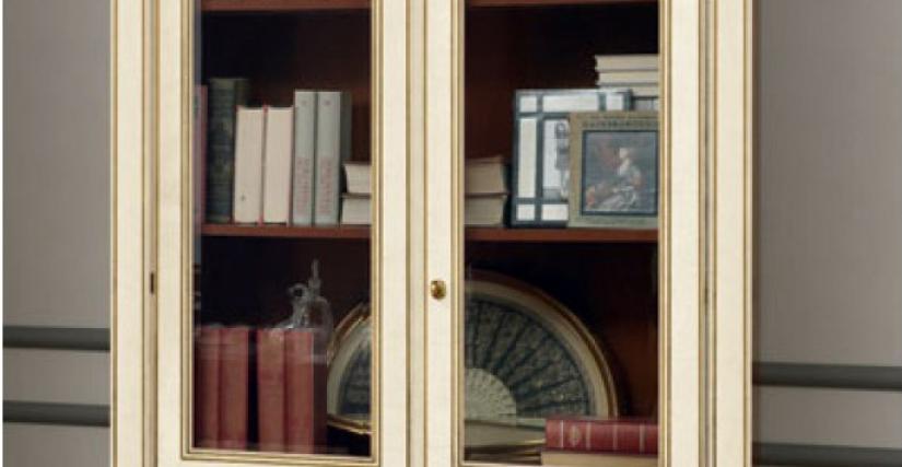 Книжный шкаф 2-х дверный. 112х42х214
