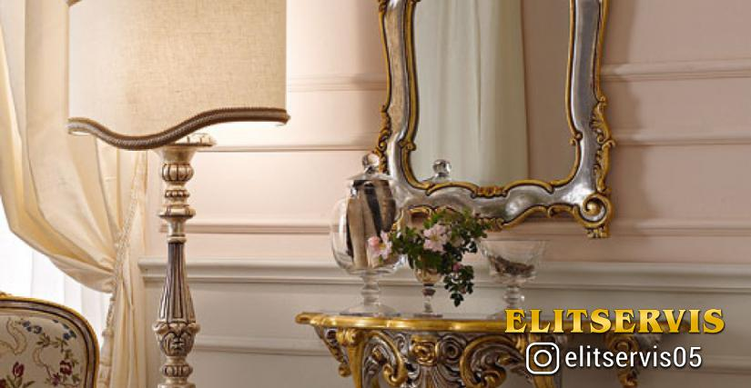 • 663 консольный столик (L05) cm. 92 x 35 x 66 h. • 1089 зеркало (L05) cm. 60 x 90 h.