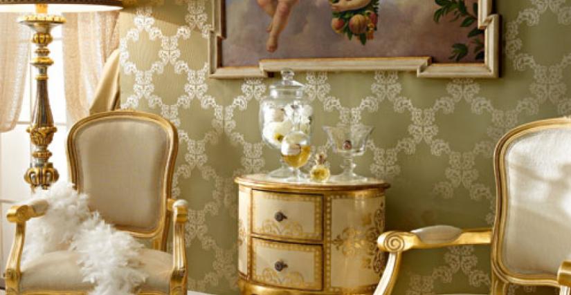 • 206 овальный столик (L01) cm. 51 x 37 x 77 h. • 715/P кресло (L04 - S22) cm. 57 x 54 x 99 h. • 5000 натюрморт с кроликом cm. 120 x 80 h. без рамы
