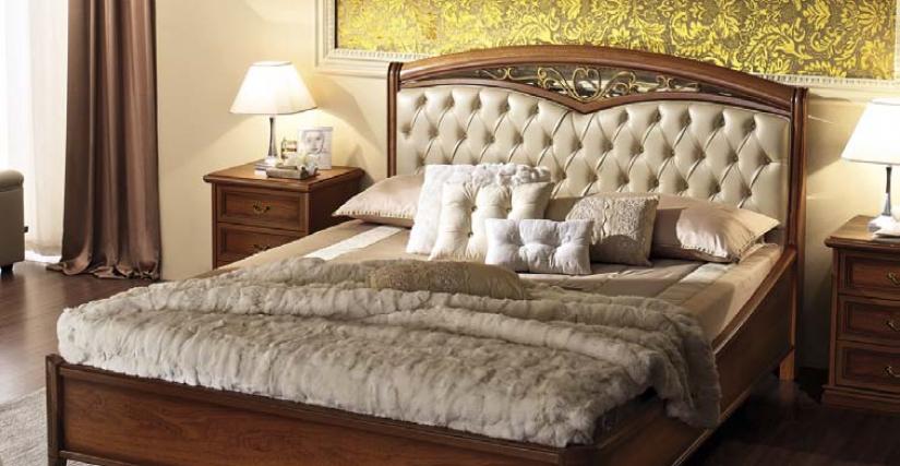 Кровать 160x200 арт.42 Размеры: Ш.172 Г.221 В.121  Кровать 180x200 арт.44 Размеры: Ш.192 Г.221 В.121