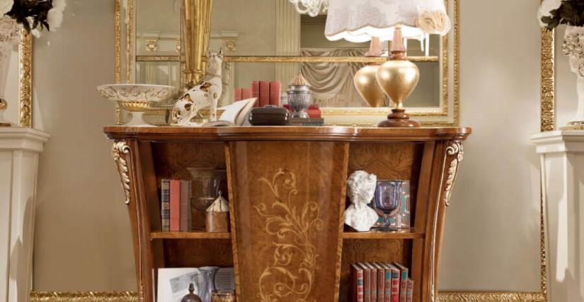 Книжная этажерка Арт. 882 Размеры: Ш 170 Г 53 В 115