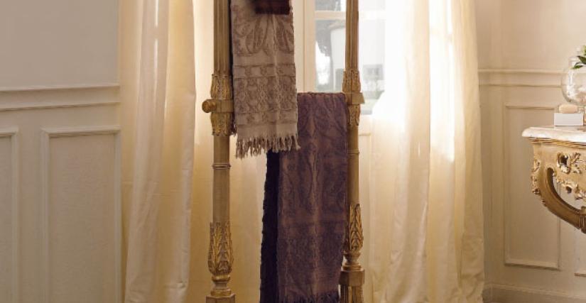 • 1132 вешалка для полотенец (L34) cm. 82 x 39 x 180 h.