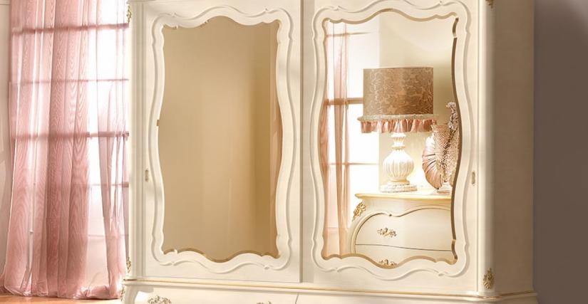 Шкаф 2-х дверный Арт. 8001 Размеры: Ш 275 Г 75 В 260