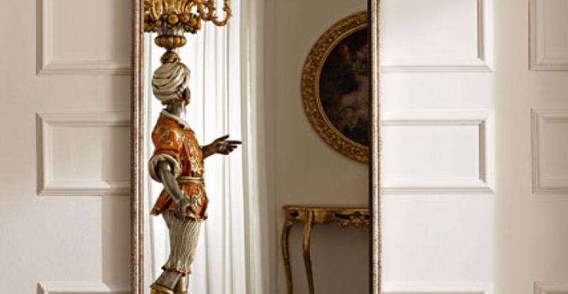 • 1127 зеркало (L43) cm. 75 x 190 h.