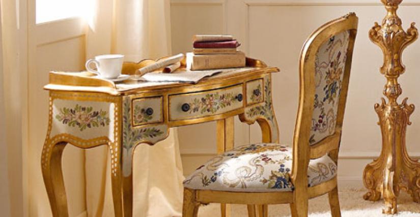 • 219 консольный столик (L02) cm. 85 x 43 x 80 h. • 715 стул (L04 - S22) cm. 50 x 54 x 99 h.