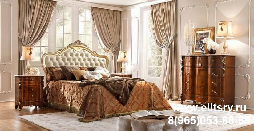 Кровать Арт. CPRL24(oro) Размеры: Ш 192 Г 208 В 155