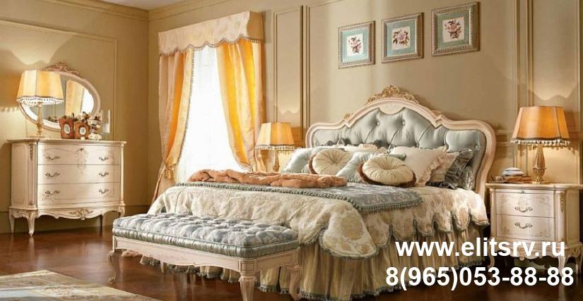 Кровать с мягким изголовьем Арт. CPRL21 Размеры: Ш 212 Г 218 В 155