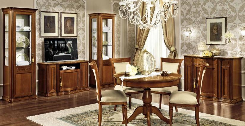 1-дверная изогнутая витрина с зеркальной стенкой, левая правая Размеры: Ш.80 Г.53 В.208  Тумба ТВ MINI Размеры: Ш.130 Г.55 В.79